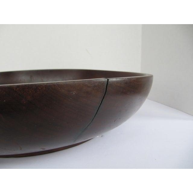Wood Vintage Brazilian Wood Bowl For Sale - Image 7 of 8
