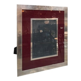 Giant Italian Vintage Modern Picture Frame, Italy, 1970s