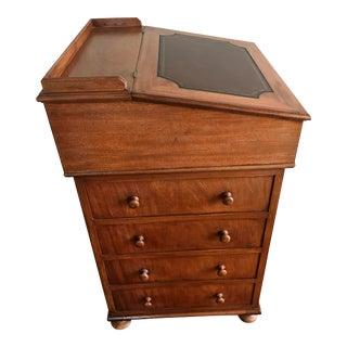 Antique Captain's Davenport Desk