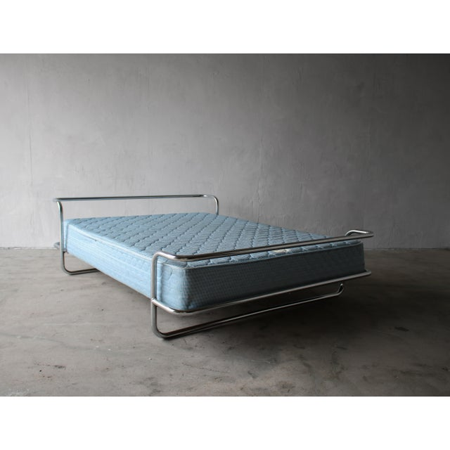 Vintage Chrome Queen Bed By Ikea Chairish, Ikea Queen Bed