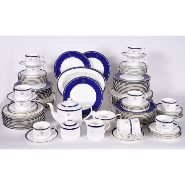 Wedgwood English Porcelain Dinnerware Service for Ten People - 83 Piece Set For Sale - Image 13 of 13