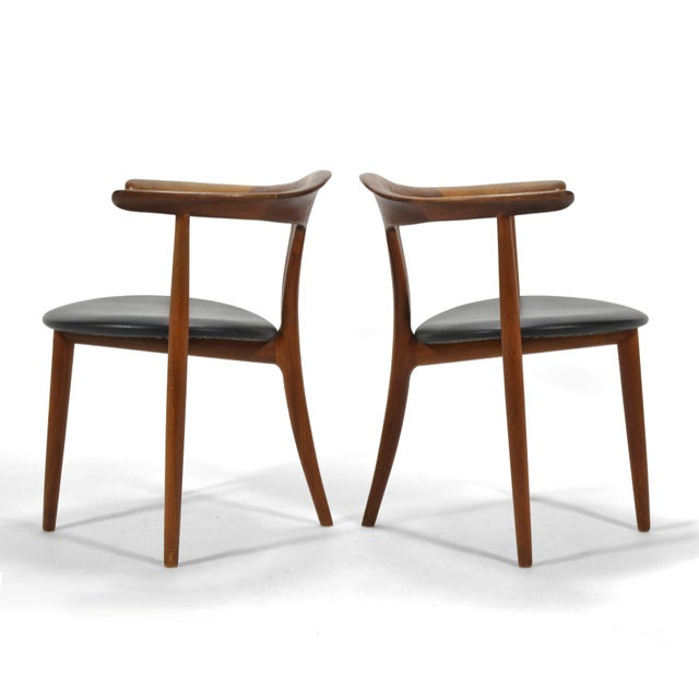 Erik Andersen and Palle Pedersen Pair of Rare Easy Chairs For Sale - Image 11 of 12