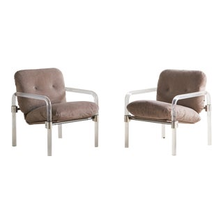 Pair of Jeff Messerschmidt Pipe Line Series II Chairs For Sale