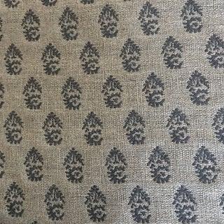Traditional Peter Dunham Rajmata Indigo/SkyTradi Fabric - 2 Yards For Sale