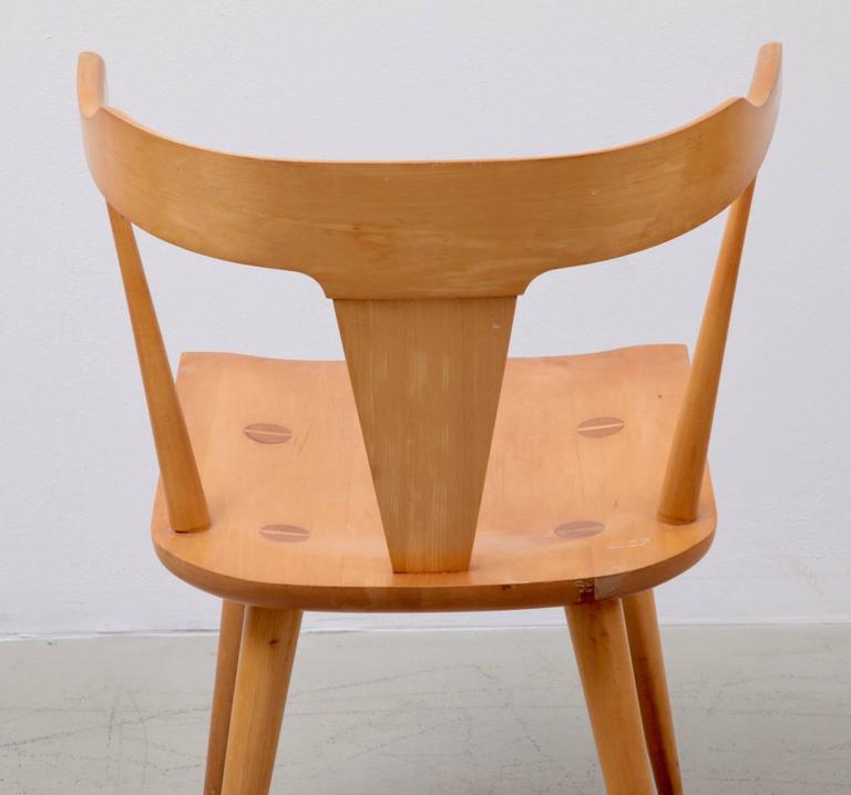 Pair Of Planner Group T Back Chairs By Paul McCobb For Winchendon   Image 5