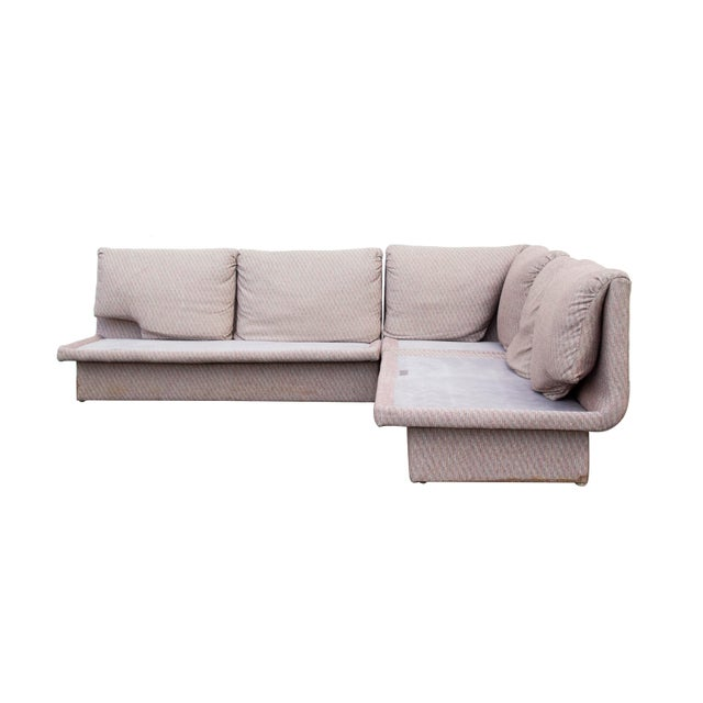 Postmodern Three Piece Sectional Sofa by Bernhardt - Set of 3 For Sale - Image 13 of 13