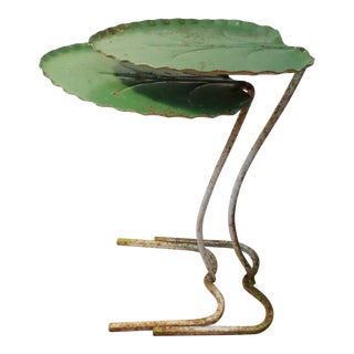 Salterini Pair of Lily Pad Nesting Tables, as Found For Sale