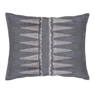 Boho Chic Quill Slate Pillow For Sale