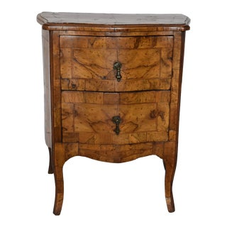 Italian 2 Drawer Commode For Sale