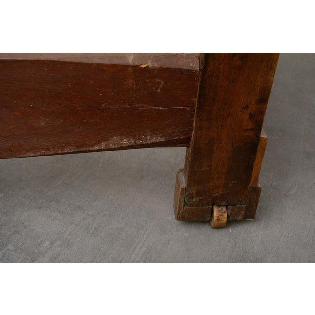 Wood Early 19th Century French Provincial Walnut Daybed Frame For Sale - Image 7 of 12