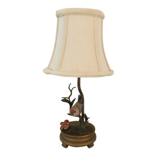Late 20th Century Birds on a Branch Lamp For Sale