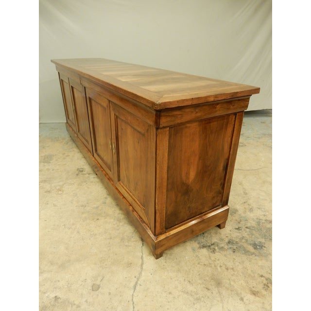 Mid 19th Century French Walnut 19th Century Enfilade For Sale - Image 5 of 12