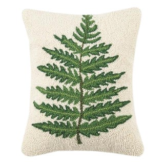 Large Fern Hook Pillow For Sale