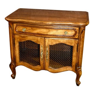 Vintage Thomasville Country French Style Nightstand For Sale