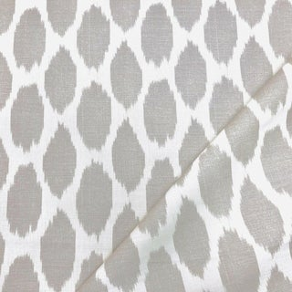Contemporary Quadrille Adras Linen Designer Fabric by the Yard For Sale