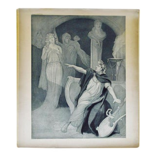 1900 Photogravure of J Steeple Davis' Neron Opera Painting For Sale