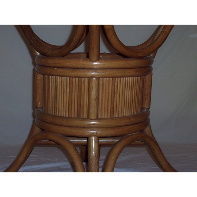 Vintage Mid-Century Bentwood Bamboo Dining Set - Image 3 of 5