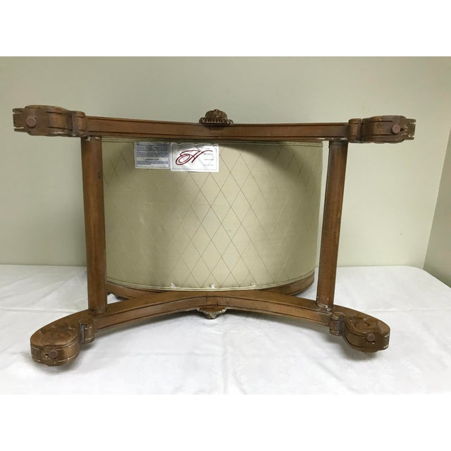 2000 - 2009 Vintage Henredon Savonarola Style Lion Head Bench For Sale - Image 5 of 13
