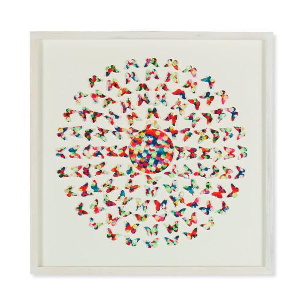 Modern Contemporary Laser Cut Butterflies Wall Art For Sale - Image 3 of 3