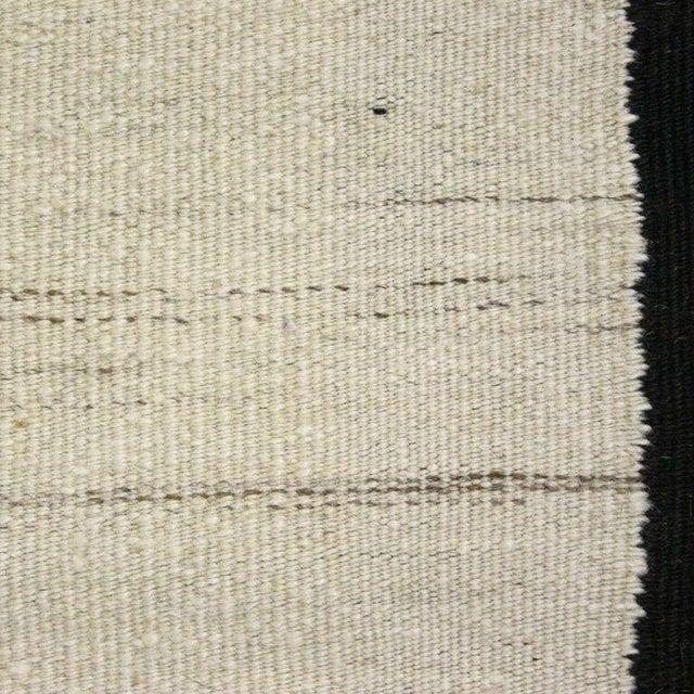 Turkish Cream Flatweave Kilim - 3' x 7'4'' - Image 3 of 4