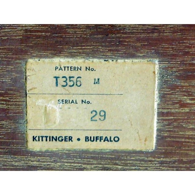 Kittinger Tray Coffee Table with Incised Thistledown Design For Sale In Chicago - Image 6 of 6