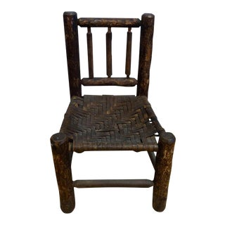 Old Hickory Child's Chair