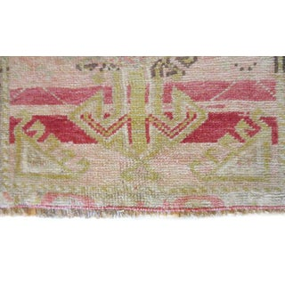 """Vintage Turkish Pink Red Runner-1'6'x3'2"""" Preview"""