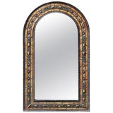 Image of Moroccan Arched Metal Inlay Mirror For Sale