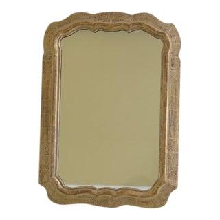 Gold Wash Finish Decorative Mirror For Sale