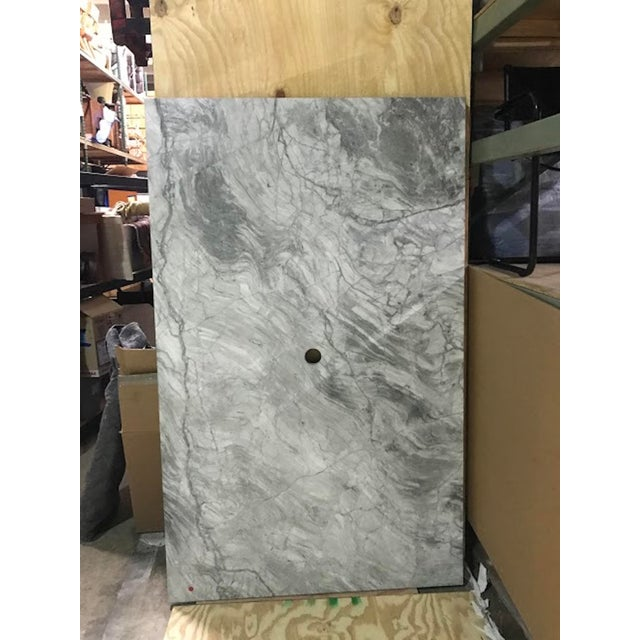 Custom Carrera Marble Island or Counter Top, Magnificent figured and striated Carrera Slab ready to go in your new...