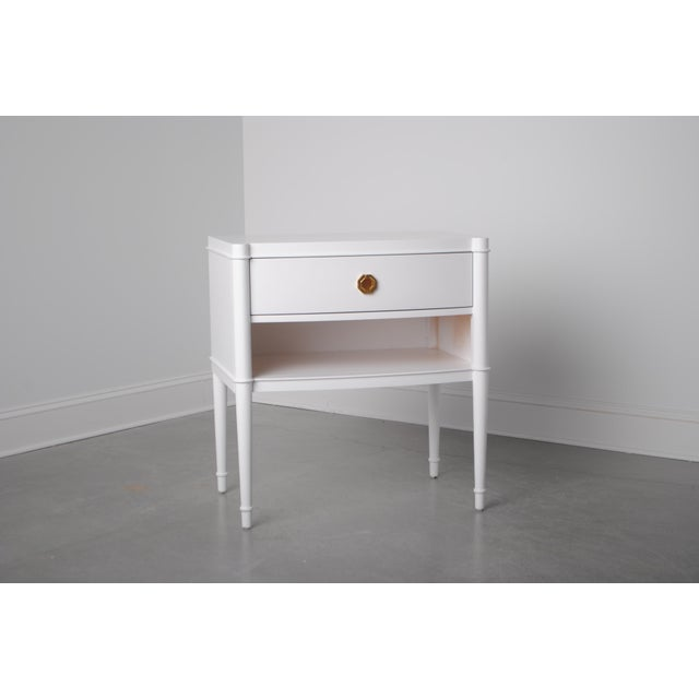 Traditional Pinciana Nightstand For Sale - Image 3 of 3