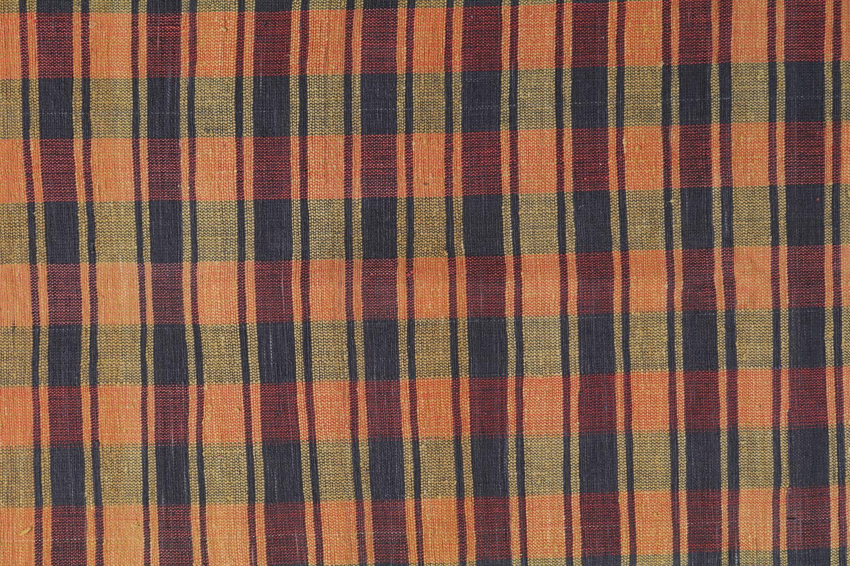 Vintage Turkish Striped Plaid Flatweave 6 215 8 5 Chairish