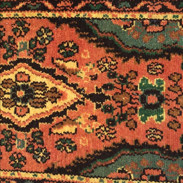 Hamadan Persian Rug - 1′6″ × 2′6″ - Image 5 of 9