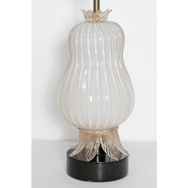 MURANO PEAR FORM TABLE LAMP - Image 3 of 10