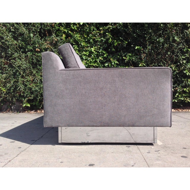 Harvey Probber 1970's Three Seater Sofa Designed by Harvey Probber For Sale - Image 4 of 4