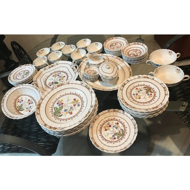 1940s Vintage Copeland Spode Cowslip China Set - 63 Pieces For Sale - Image 13 of 13
