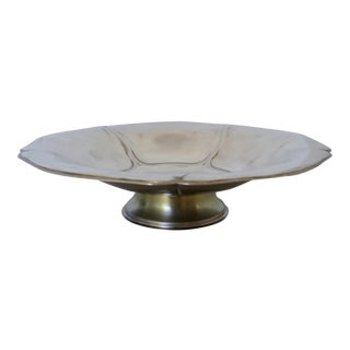 Pearlized Silver Tazza For Sale