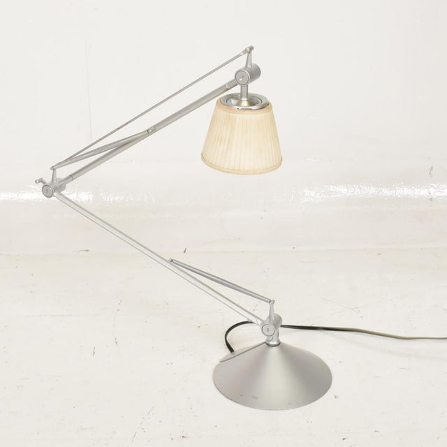 Industrial Mid-Century Modern Table Lamp by Philippe Starck for Flos For Sale - Image 3 of 9