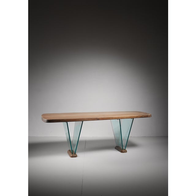 Beautiful desk designed and produced by Robert Sentou. Robert Sentou produced for various designers, including Charlotte...