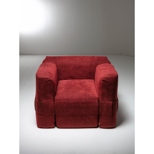 Mario Bellini '932' Easy Chair by Mario Bellini for Cassina For Sale - Image 4 of 7