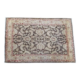 Traditional Wool Peshawar Rug - 6'x9' For Sale