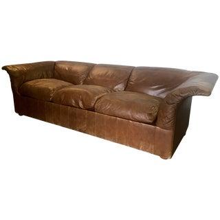 "Sofa ""Poltrona Frau"" in Leather by Luigi Massoni For Sale"