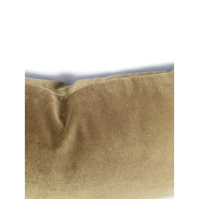 Designer velvet in a beautiful brown color that is soft to the touch. The fabric is durable and high end that will last...