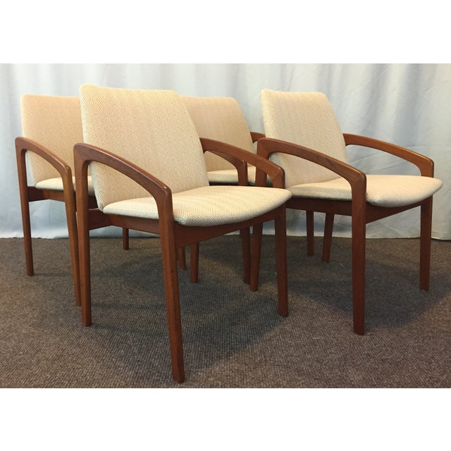Kai Kristiansen Dining Chairs - Set of 4 - Image 2 of 10