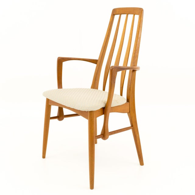 Mid 20th Century Vintage Mid Century Niels Koefoed Hornslet Danish Teak Eva Dining Chairs - Set of 6 For Sale - Image 5 of 13
