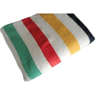 Oregon City Wool Mills Vintage 4 Point Blanket