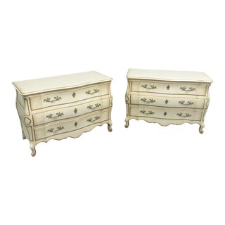 Louis XV John Widdicomb Bombay Commodes - a Pair For Sale