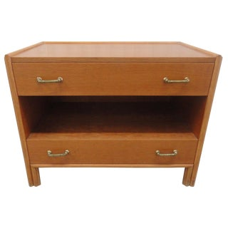 1970s Mid-Century Modern McGuire Furniture Bachelor's Chest For Sale