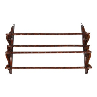 C.1890 Dutch Plate Rack