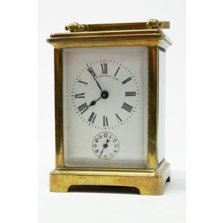 J. E.Caldwell & Co. Brass Carriage Clock Preview